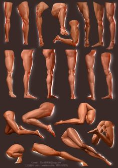 ArtStation - leg, Qi Chen