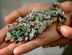 Rare Dresden Green Diamond! The 40.70 carat, Dresden Green has a historical record dating back to 1722 and believed to have come from India.
