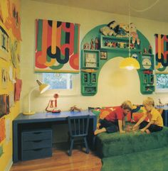 Vintage Kiddo: Kid Bedrooms from the 60s and 70s were swank! – Modern Kiddo