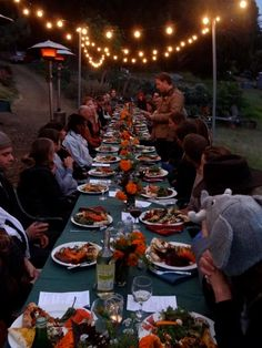 Farm to table dinner - 60 dollars per person seems fair for a three to four course meal.