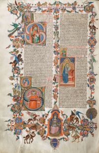 medieval & breathtaking #art #anjou_bible #miniatures