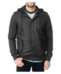 RVCA Mens : Hoodies / Fleece - Puffer Fleece