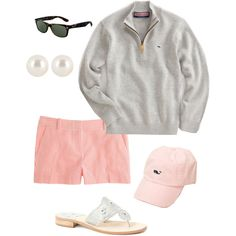 A fashion look from March 2013 featuring J.Crew shorts, Jack Rogers sandals and Henri Bendel earrings. Browse and shop related looks.