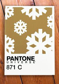 Design Innova: Cartões de Natal do Pantone