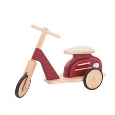 "Moulin Roty ""Retro 3-Rad Roller"" (Holz)"