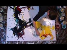 Pierre Bellemare, artiste peintre - YouTube