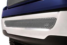 # FOR1309S Ford F-150 Silver MX Grille Lwr Insert Grillcraft #Grillcraft #ChromeTrim