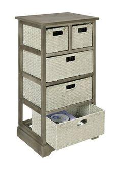 Altra Grey Storage Unit with 5 Baskets