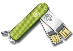Swiss Army Slim USB Flash Drives... look sharp without knives