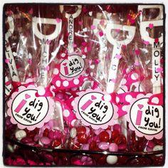 Super cute idea for class Valentines