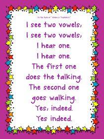 Classroom Freebies: One Million Vowel Teams