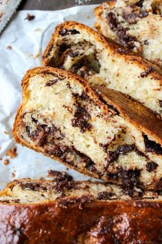 Chocolate Babka - Because adding chocolate to buttery bread is always the right choice.