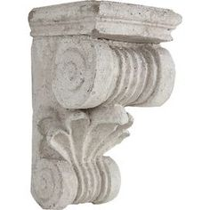 Look what I found on Roman-Style Wall Pedestal Display Shelves, Wall Shelves, Shelf, Shelving, French Romance, Stair Landing, Roman Fashion, Rustic Flowers, New Wall