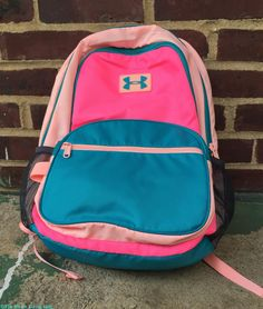 Under Armour Back Pack for my little gal! Zappos Gets Kids Ready For Back-To-School #ZapposHaul (+ $25 Giveaway) @Zappos #backtoschool | The Mama Maven Blog