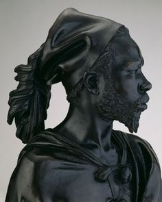 by Charles Henri Joseph Cordier. Bust of Said Abdullah of the Darfour People, 1848