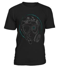 Gas Mask - Limited Edition!  #gift #idea #shirt #image #music #guitar #sing #art #mugs #new #tv #cool  #videogames