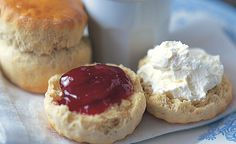 Mary Berry Devonshire Scones. Cannot wait to make these over the weekend!