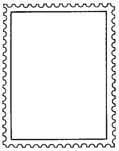 A rubber stamp feat. a stamp: $6.50 from 100proofpress.com Borders For Paper, Borders And Frames, Hand Drawn Border, Frame Border Design, Letters For Kids, Art Worksheets, Page Borders, Pocket Scrapbooking, Binder Covers