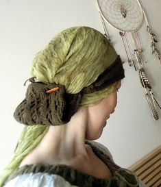 Ravelry is a community site, an organizational tool, and a yarn & pattern database for knitters and crocheters. Medieval Hats, Viking Reenactment, Viking Life, Hair Nets, Viking Knit, Spring Green, Headgear, Ravelry, Weaving