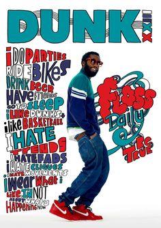 Kate Moross - Nike Dunk 23rd Anniversary Series 2010