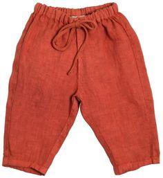 7984fb8494f929 Linen Pants Caramel Baby