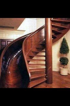 I want to put a second story addition on our house just so we can have one of these!