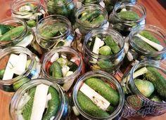 3 z Home Canning, Preserves, Pickles, Ham, Cucumber, Pesto, Fruit, Vegetables, Cooking
