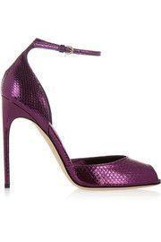 Brian AtwoodOriana metallic watersnake sandals #brianatwoodsandals #brianatwoodoriana
