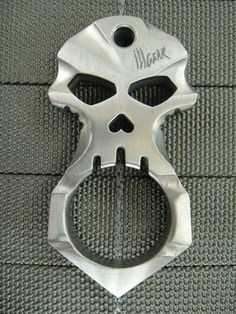 ☆ Urban Operators's Titanium Skull Design Self Defense Tool :¦: Shop: Ill Gear ☆