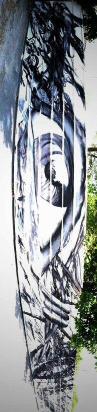 Nemi uhu - street art - In situ art festival, Fort d'Aubervilliers (17 mai au 14 juillet 2014)