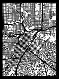 Houston Cut Map – Cut Maps