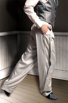 Men tango pants and vest,for tango.By MamatangoWear.