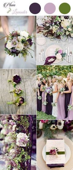 plum,pinky lavender and greenery spring and summer wedding colors - Spring: Wedding Color Schemes - Perfect Wedding, Dream Wedding, Trendy Wedding, Elegant Wedding, Wedding Unique, Wedding Details, Spring Wedding Colors, Wedding Summer, Wedding Blue