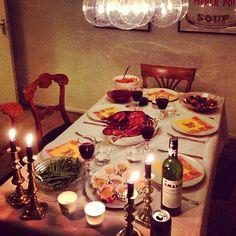 Dinner's served!
