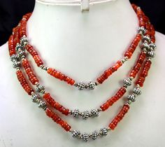 (SKU No. 310ct) 505ct Designer Beads Necklace Cabochon with Silver Beads