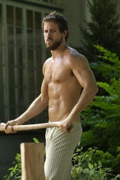 My favorite version of Ryan Reynolds....shirtless and agitated in  Amittyville Horror.
