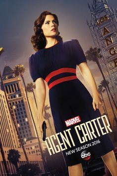 First Photo and Premiere Date for Agent Carter Season 2 Revealed!