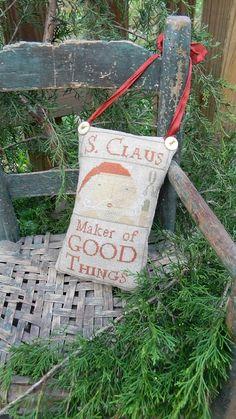 NEW Pattern from Notforgotten Farm  S Claus  by notforgottenfarm, $10.00  SO CUTE!!!