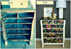 8 Incredible Ways to Flip Roadside Furniture >> http://blog.diynetwork.com/maderemade/2015/02/11/8-incredible-ways-to-bring-roadside-furniture-back-to-life/?soc=pinterest