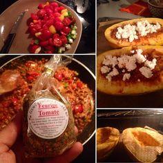Spaghettikürbis gefüllt mit Tomaten Tofu Zwiebeln und so... Powered by Gewürzmühle Engels aus Neuss :-) #duesseldorf #bilk #urban