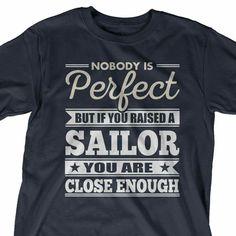 Navy mom Navy Mom, Mens Tops, T Shirt, Fashion, Supreme T Shirt, Moda, Tee Shirt, Fashion Styles, Fashion Illustrations