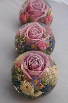 dekoration aus gießharz basteln