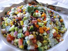 Mennonite Girls Can Cook: Mexican Chopped Salad