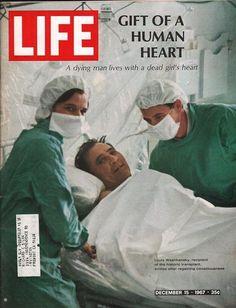 item details: Entire Issuekeywords: Louis Washkansky, Heat Transplant