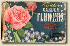 vintage Guide to Garden Flowers book