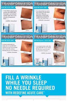 Rodan + Fields Acute Care Strips - Fill A Wrinkle While You Sleep