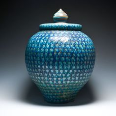 Mark Knott Large Covered Jar