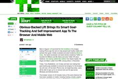 http://techcrunch.com/2013/06/18/obvious-backed-lift-brings-its-smart-goal-tracking-and-self-improvement-app-to-the-browser-and-mobile-web/ ... | #Indiegogo #fundraising http://igg.me/at/tn5/