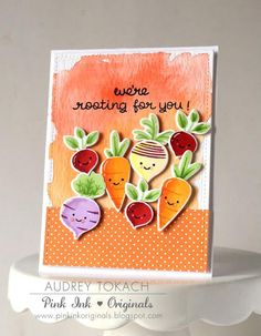 We're Rooting for You; a Cute Card by Audrey