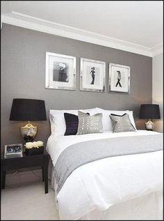 Comfy Minimalist Bedroom Decor Ideas Small Rooms - Page 14 of 60 Comfy Bedroom, Gray Bedroom, Home Decor Bedroom, Modern Bedroom, Master Bedroom, Bedroom Ideas, Small Bedroom Designs, Apartment Interior Design, Interior Walls